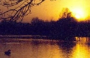 Hogganfield Loch & Park - Sunset