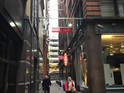 City centre lane strategy