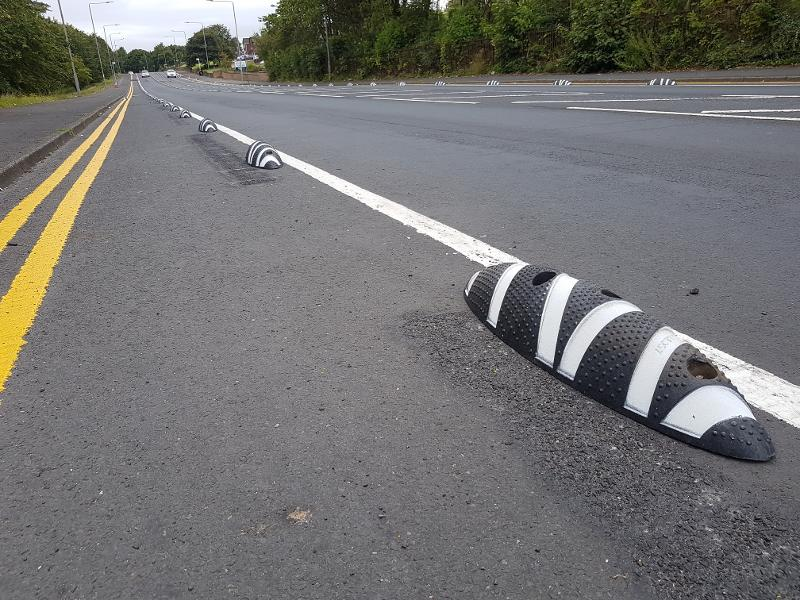 Cumbernauld Rd complete cycle lane 5