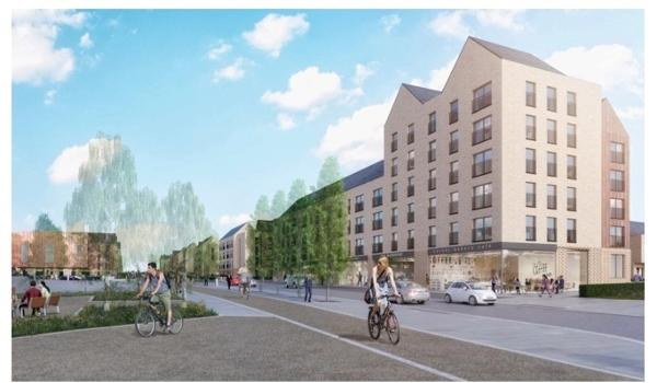 sighthill commercial development