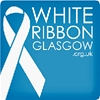 White Ribbon Glasgow logo