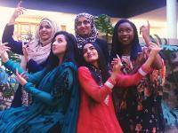 Bella Bhangra dancers