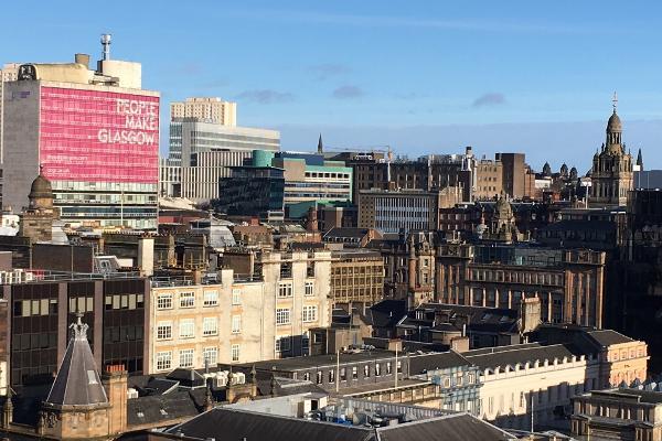city centre skyline