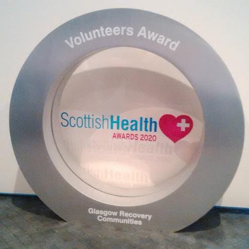 Recovery Communities award