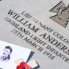 Final Victoria Cross Memorial Paving Stone Laid in Honour of Glaswegian War Hero