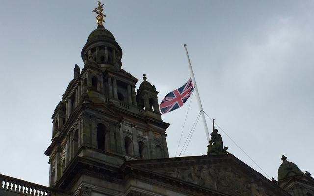 union flag manchester