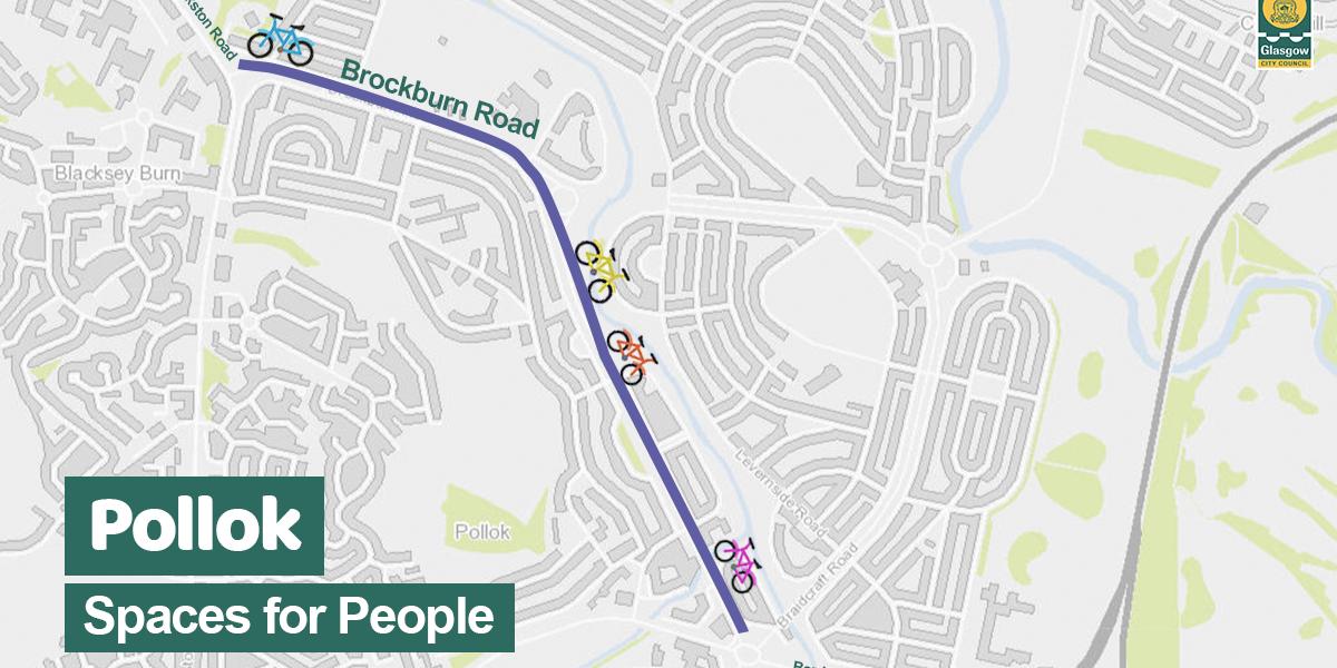 Brockburn Rd cycle lanes