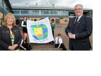 Our Lady of Peace is one of eight new solar schools