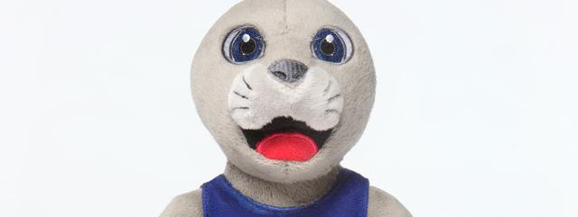 Bonnie the seal cuddly toy
