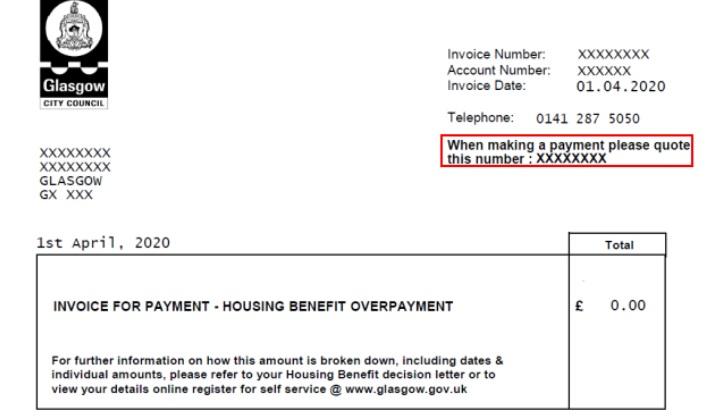 Housing Benefit Overpayment