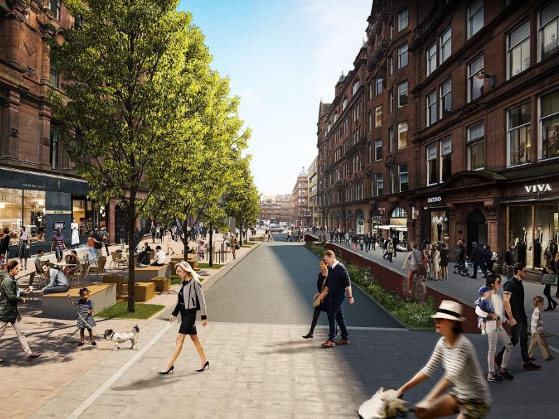 Glasgow's Central District to be regenerated