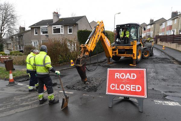 road repair 1