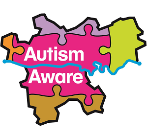 Autism friendly logo