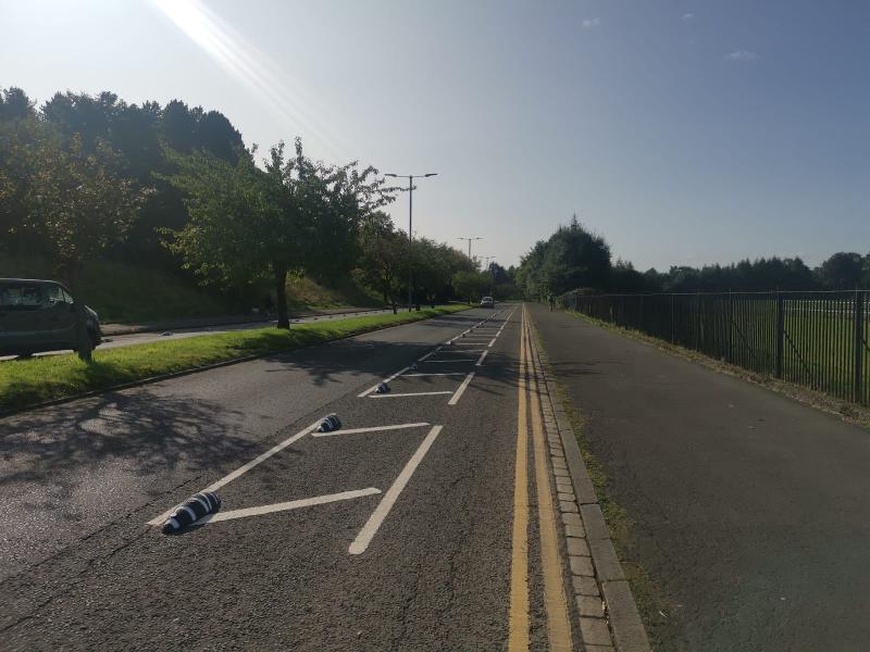 Corkerhill Rd segregation complete 1