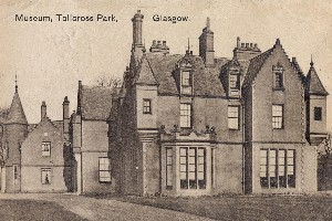 Tollcross Park - Museum Postcard Displays a larger version of this image in a new browser window