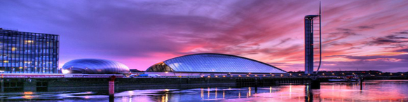 Science Centre at night Displays a larger version of this image in a new browser window