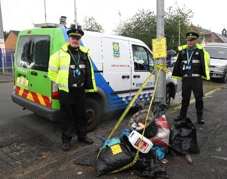 fly-tipping enforcement