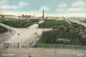 Glasgow Green - Postcard Displays a larger version of this image in a new browser window