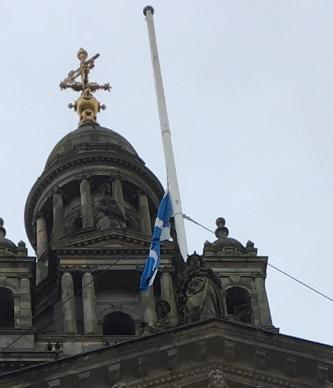 Flag half mast June 15