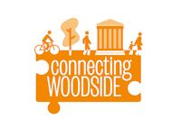 Connecting Woodside Logo