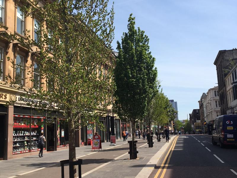 Developer funding to assist Sauchiehall Avenue project