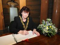 The Lord Provost has opened a book of condolence at Glasgow's City Chambers