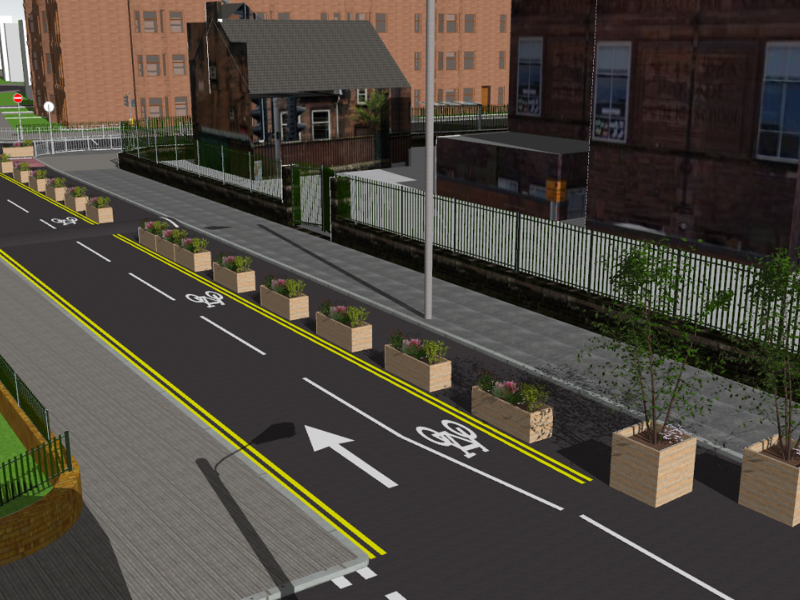 LTN: Dennistoun visualisation 3