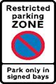 Restricted Parking Zones