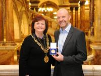 LP and St Mungo's Medal 2017