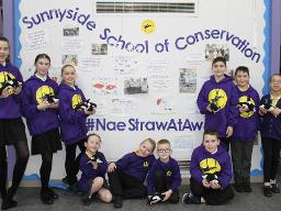 #NaeStrawAtAw Sunnyside PS Displays a larger version of this image in a new browser window